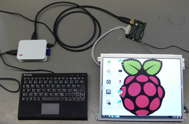 Raspberry Pi HDMI-to-LVDS-Interface